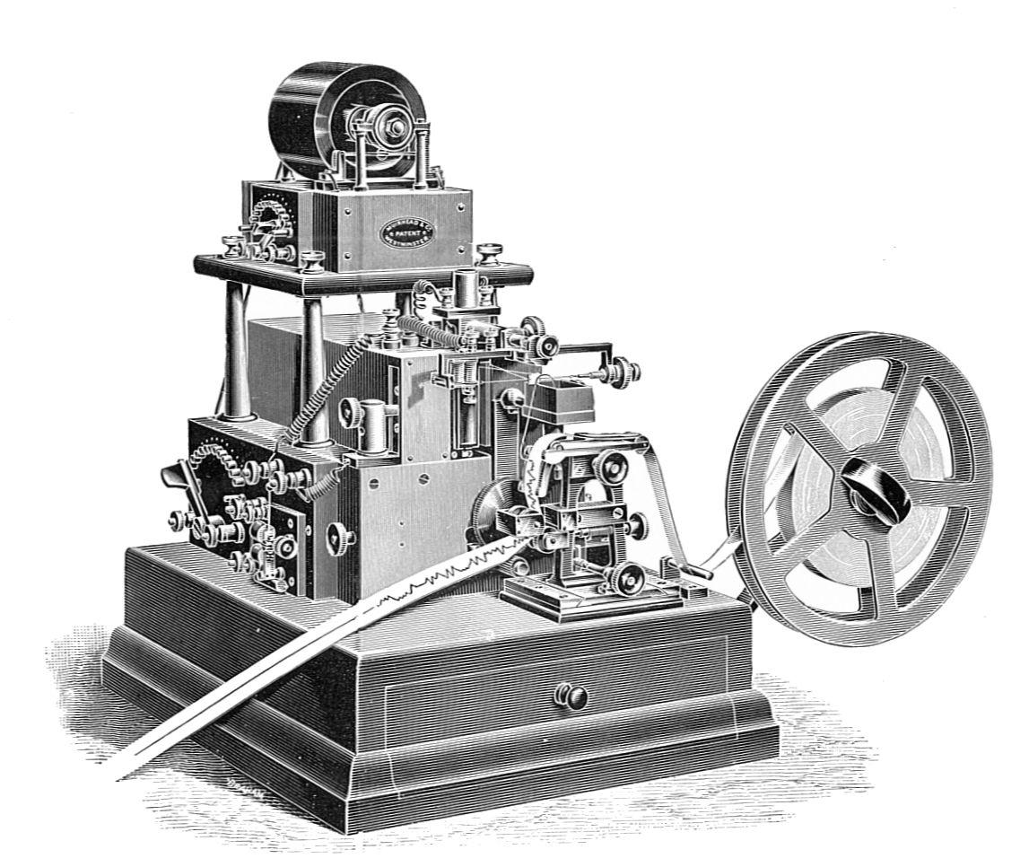 File Muirhead Automatic Telegraph Syphon Receiver Rankin