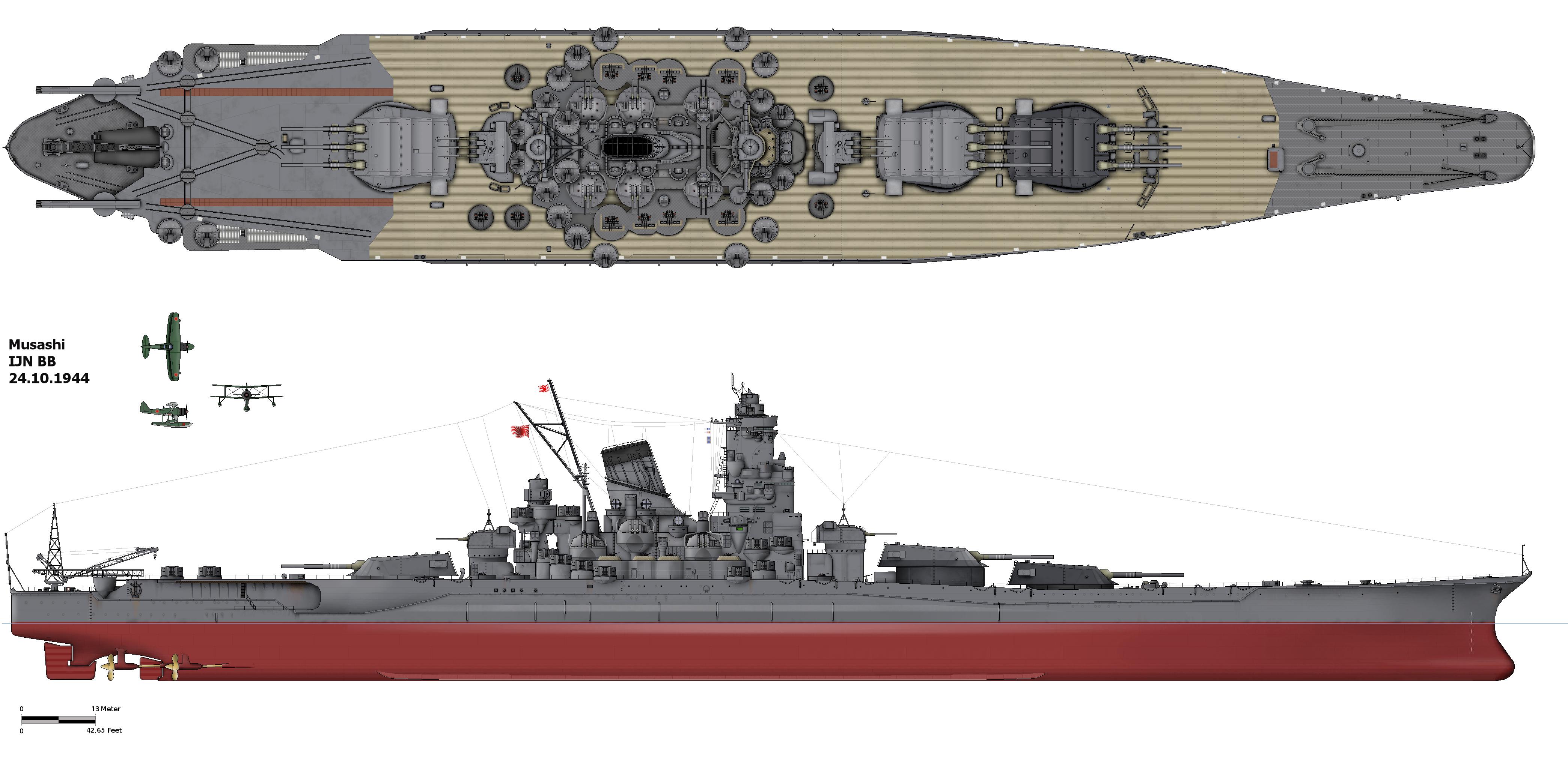japanese battleship musashi wikipedia