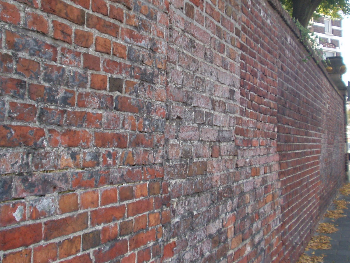 Muur bouwsel wikipedia - Hoe kleed je een witte muur ...