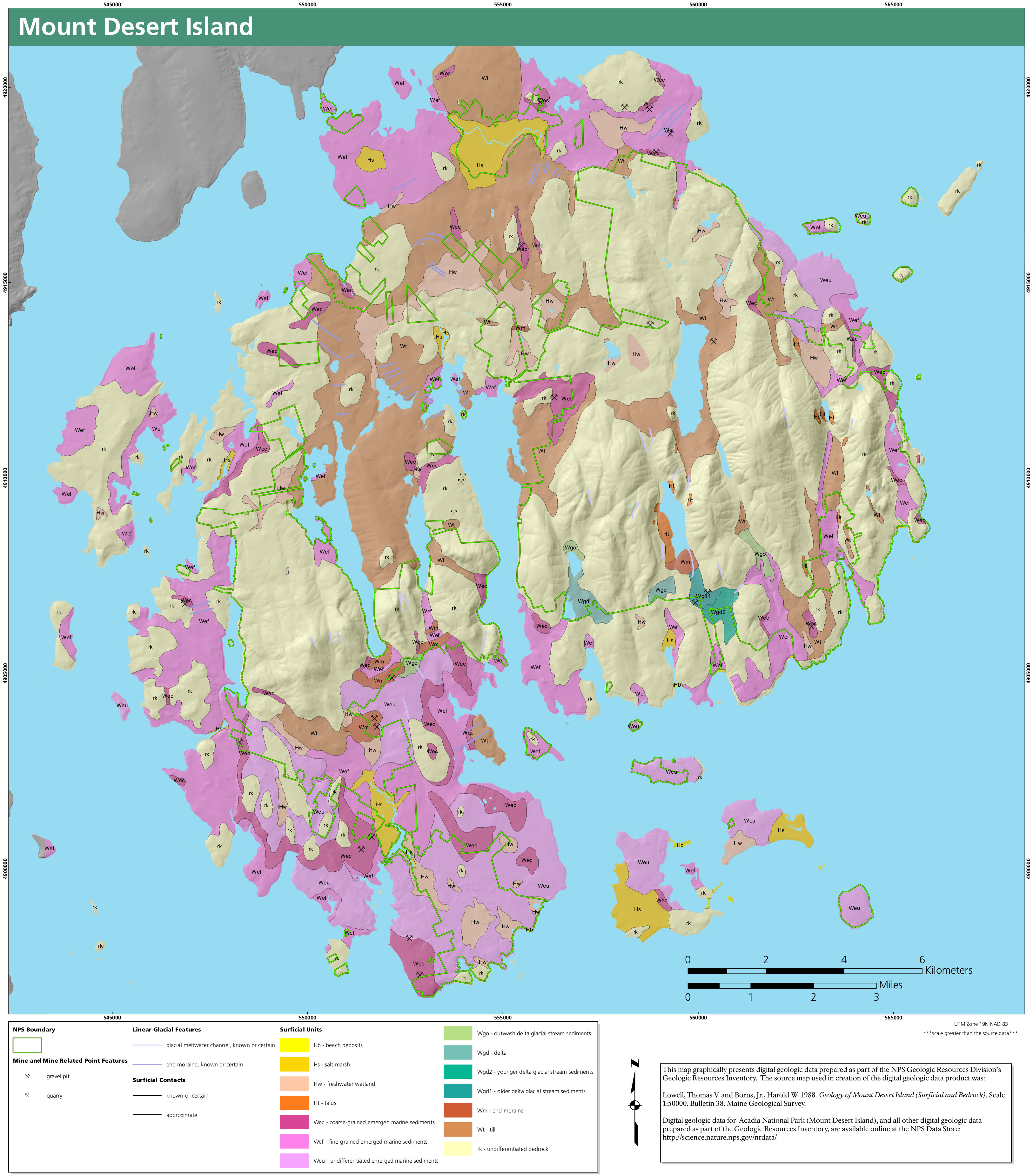 Filenps acadia surficial geology mapg wikimedia commons filenps acadia surficial geology mapg gumiabroncs Choice Image