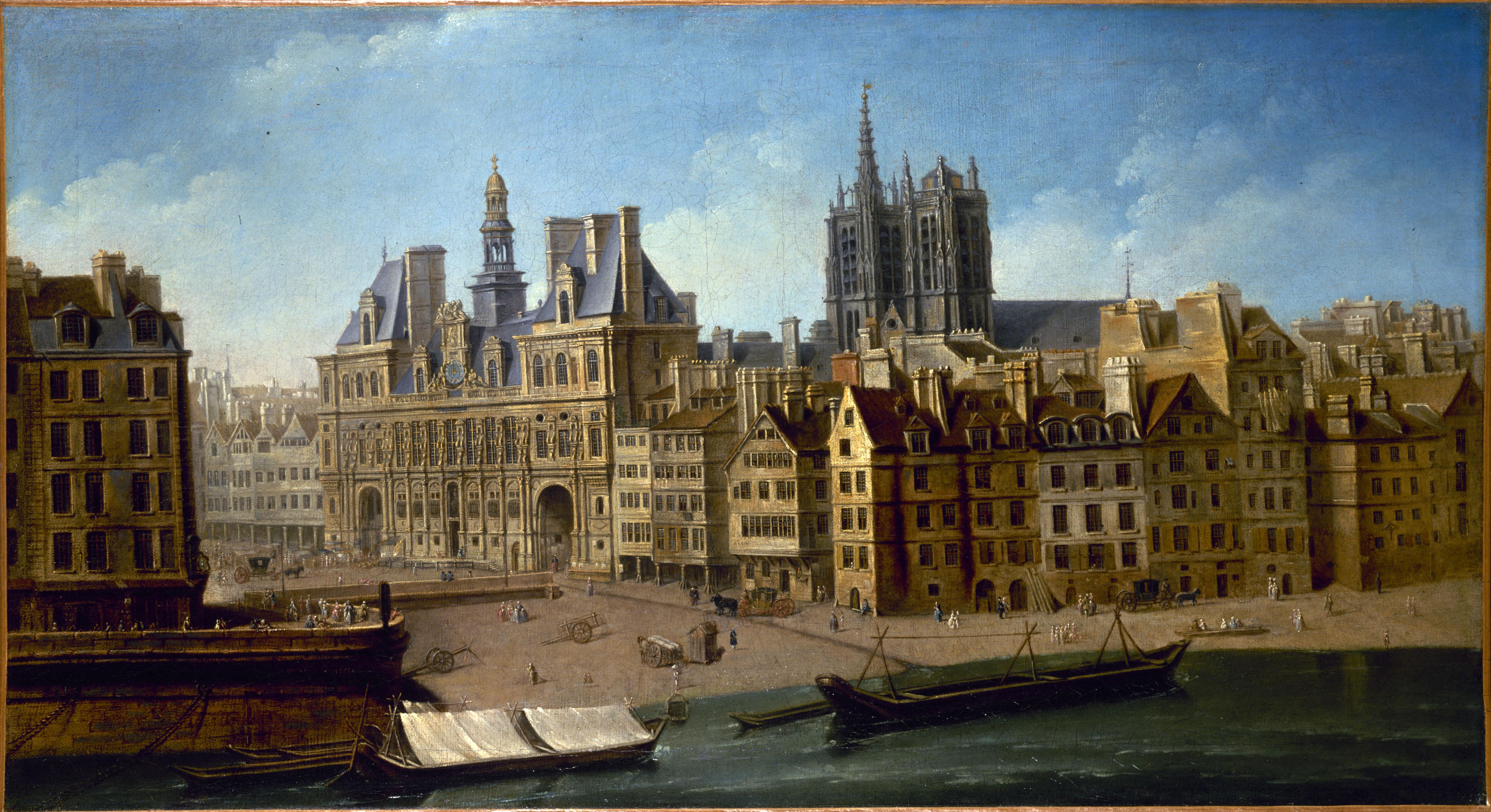 Hôtel de Ville et Place de Grève