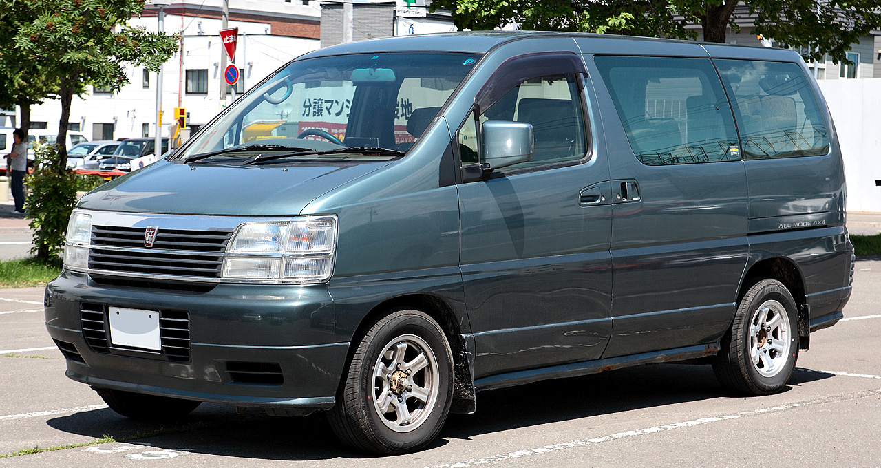 File Nissan Elgrand E50 003 Jpg Wikimedia Commons