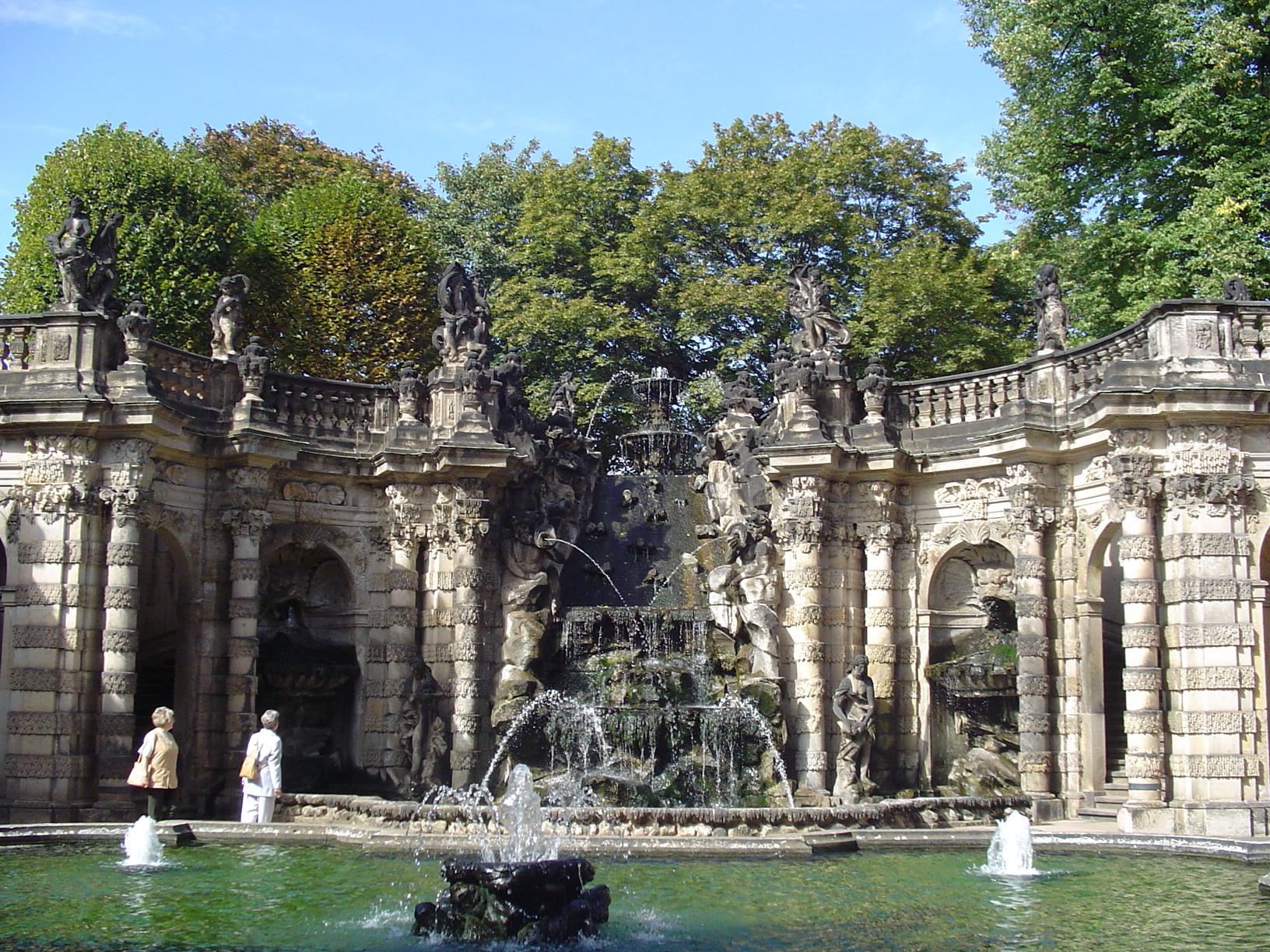 Das Nymphenbad im Zwinger
