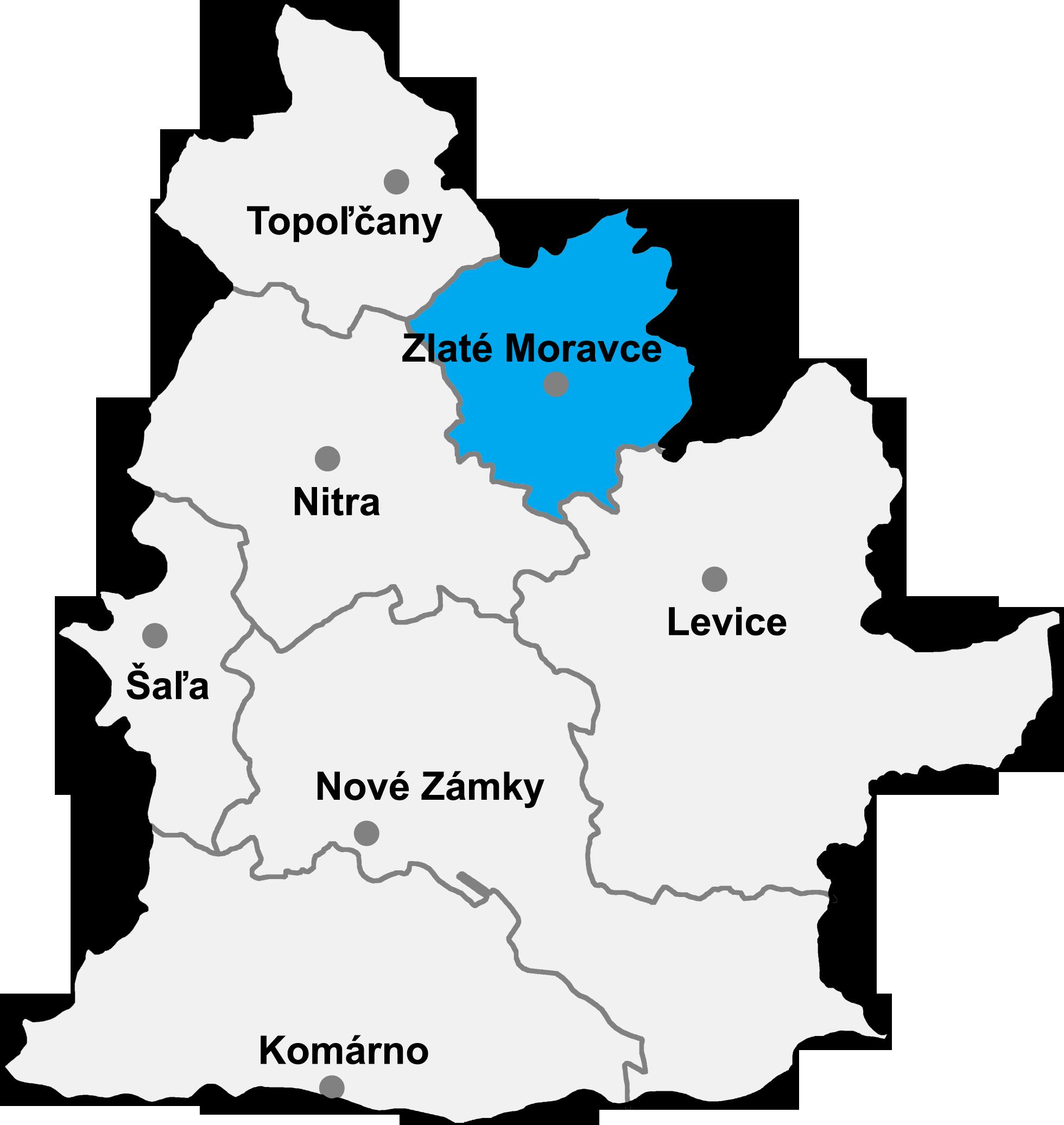 4a60638d0 Zlaté Moravce (okres) – Wikipédia