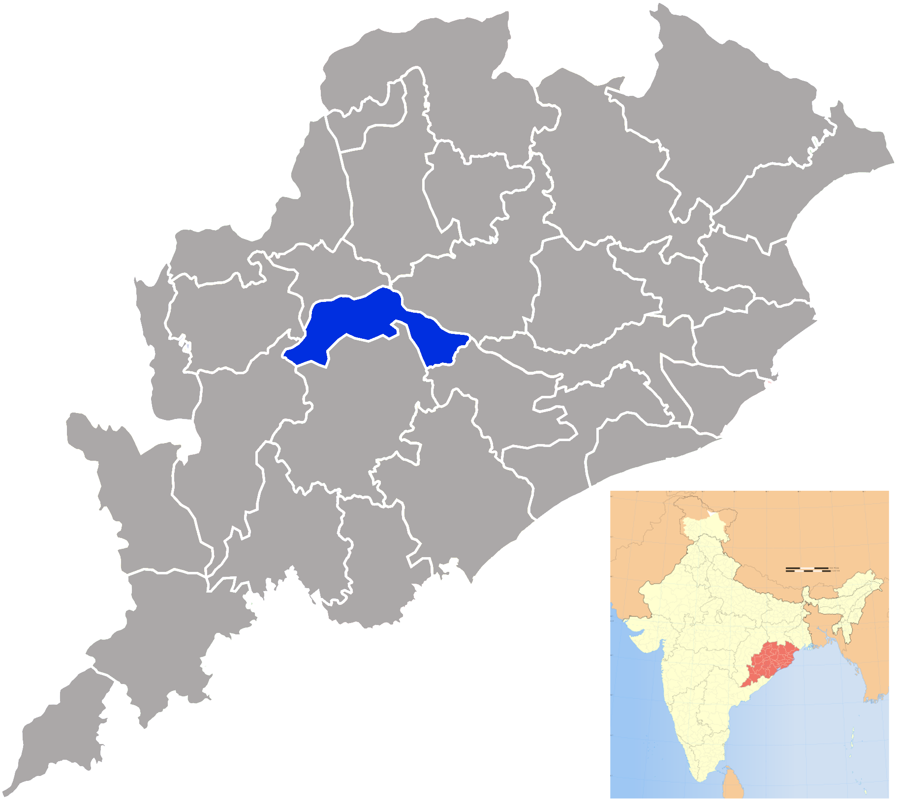 Boudh district - Wikipedia