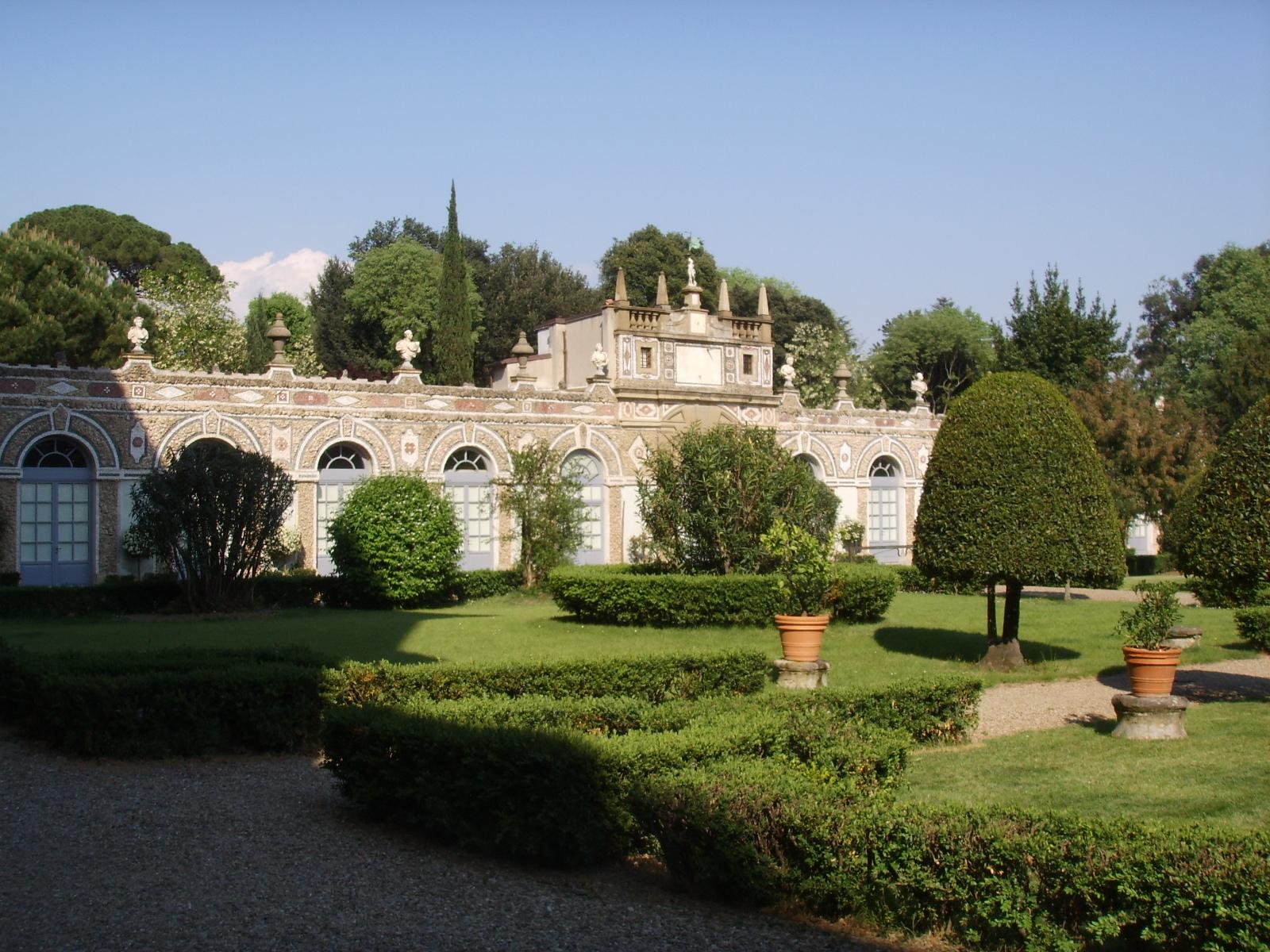 Giardino di palazzo capponi firenze tuscany ville e giardini d 39 italia pinterest palazzo - I giardini di palazzo rucellai a firenze ...