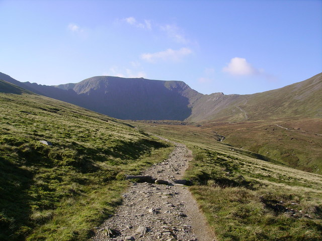 Path to Red Tarn - geograph.org.uk - 649074