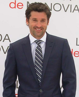 Patrick Dempsey at the presentation of the fil...