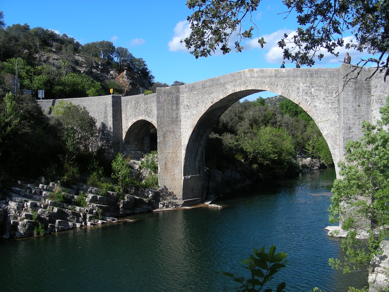 File Pont De Saint Etienne D Issensac 8 Jpg Wikimedia Commons
