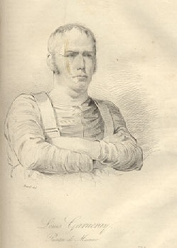 Portret van Ambroise Louis Garneray