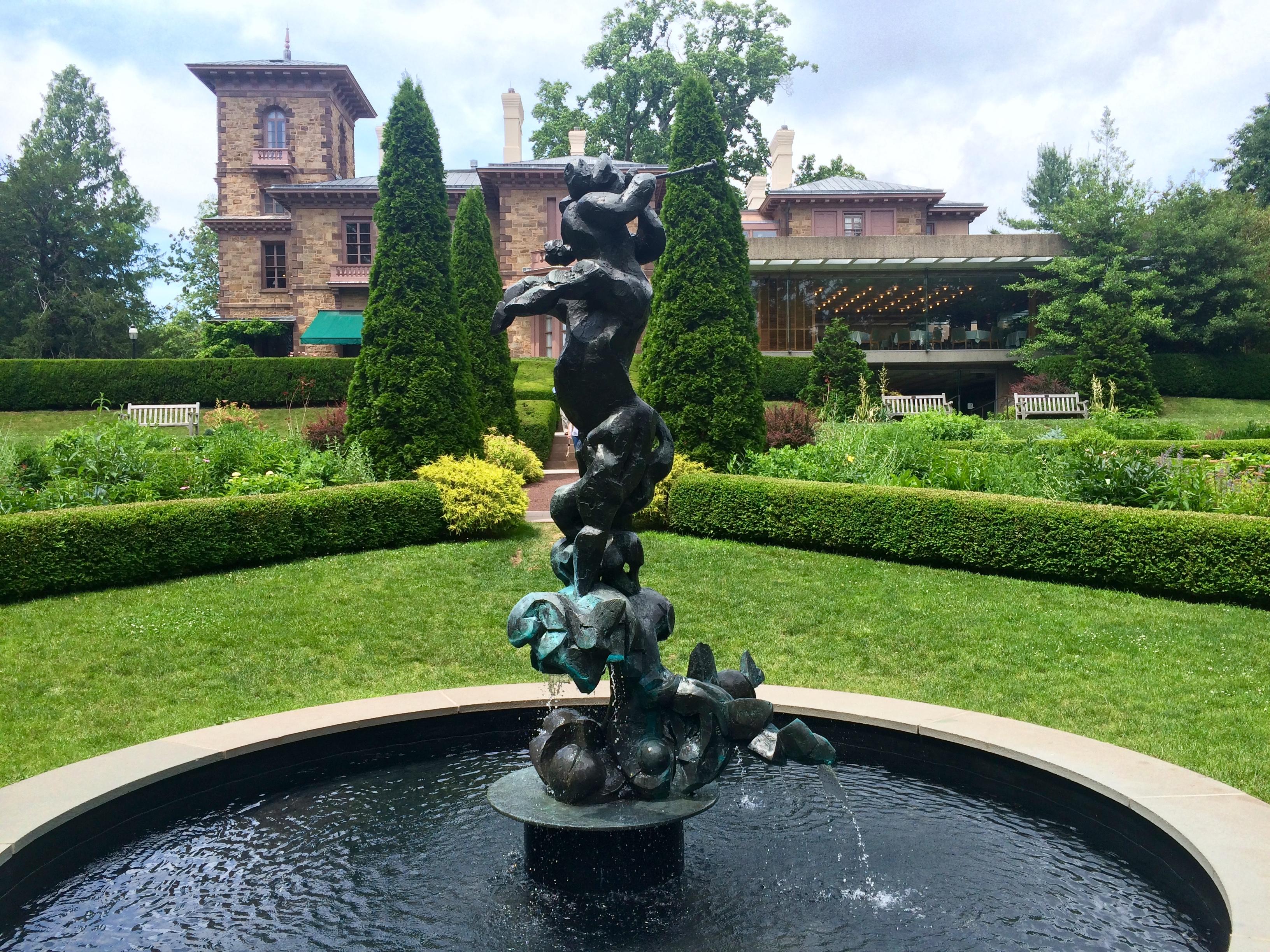 ''Centaur'' (1954) in the garden of [[Prospect House (Princeton, New Jersey) Prospect House]] in [[Princeton, New Jersey]].
