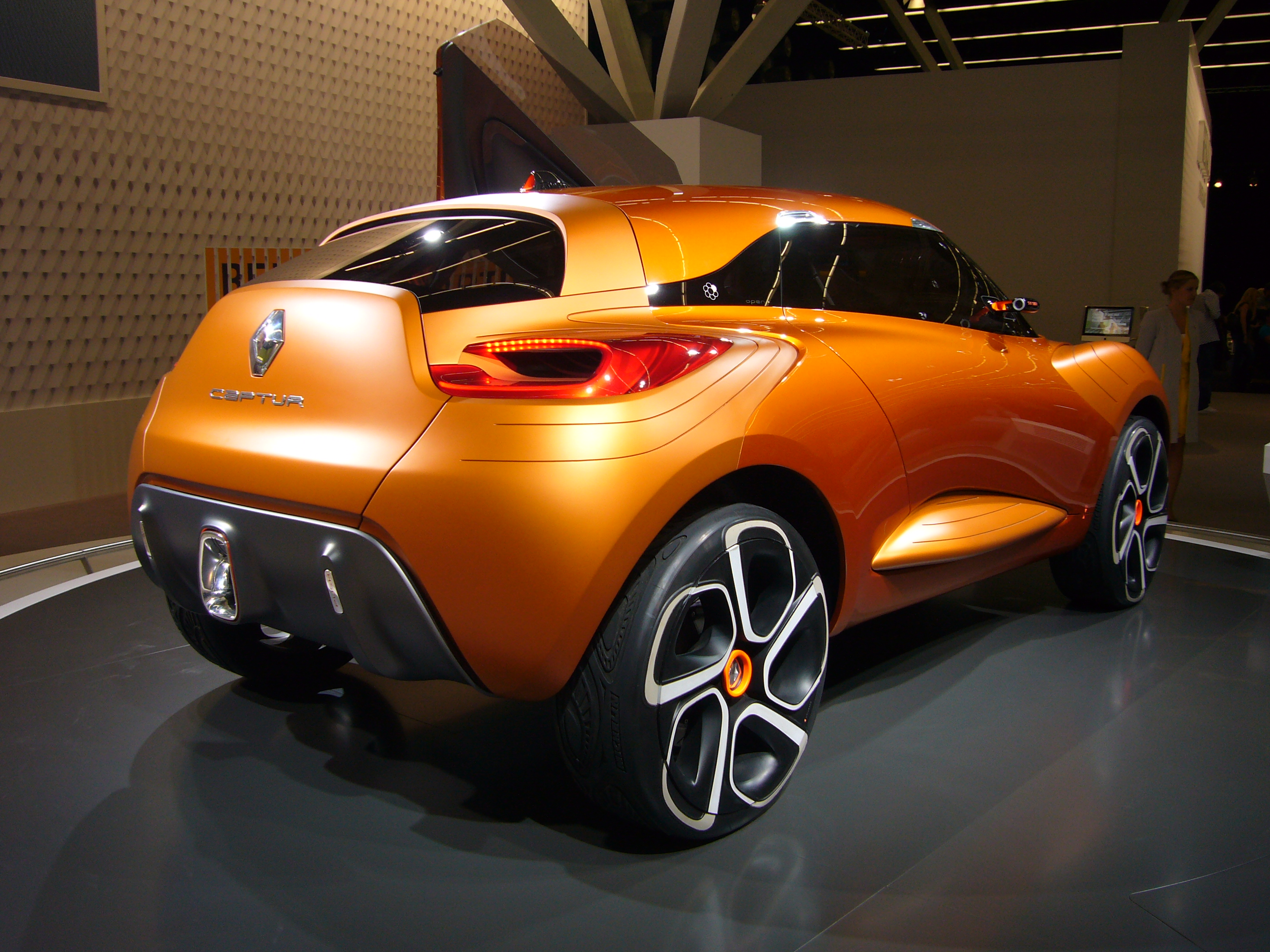 file renault captur concept rear quarter jpg wikimedia commons. Black Bedroom Furniture Sets. Home Design Ideas