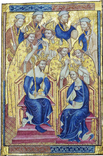The 1382 wedding of Richard II to Anne of Bohemia Richard2 Anna.jpg