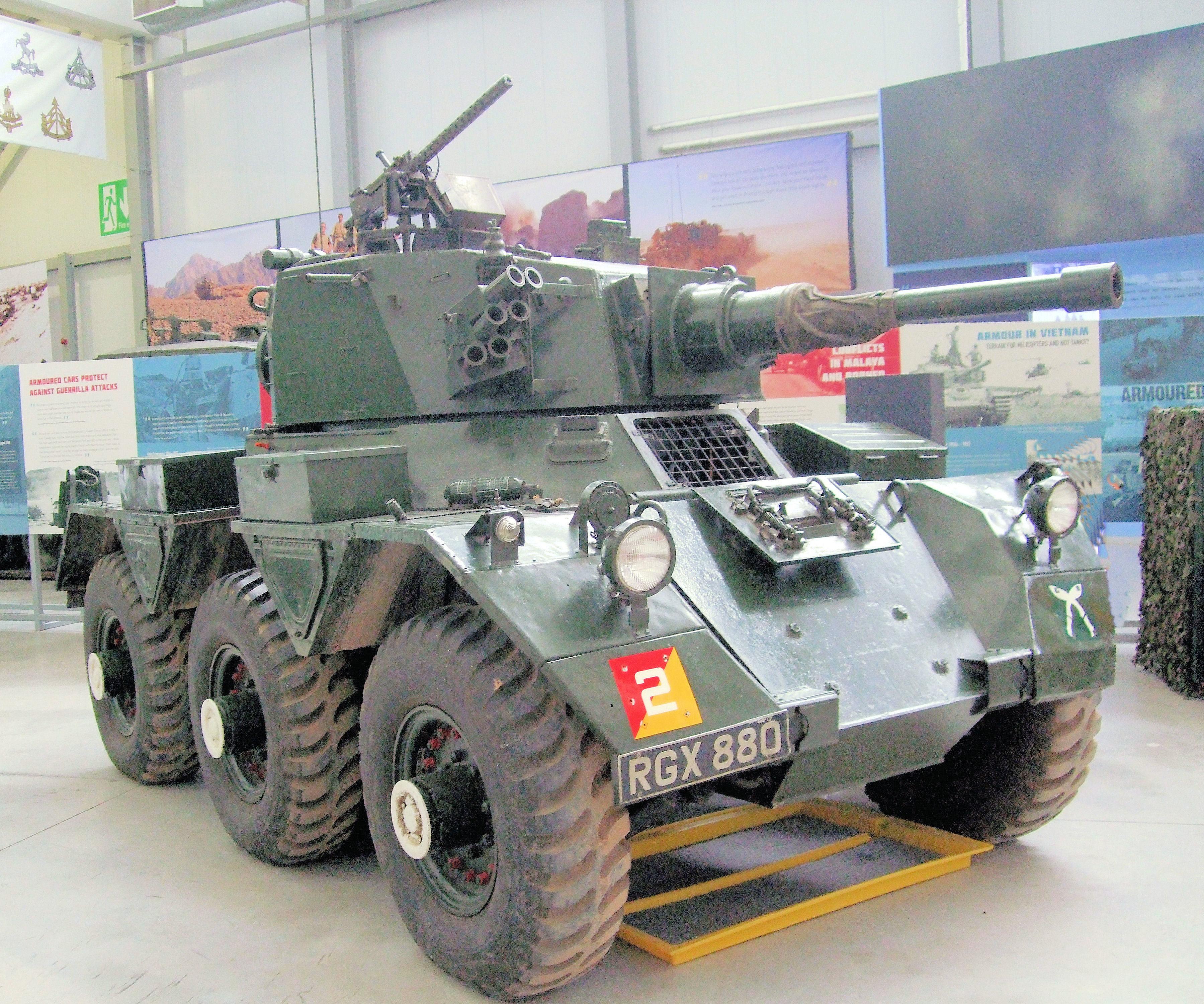File:Saladin Armoured Car, Bovington Tank Museum - Dorset