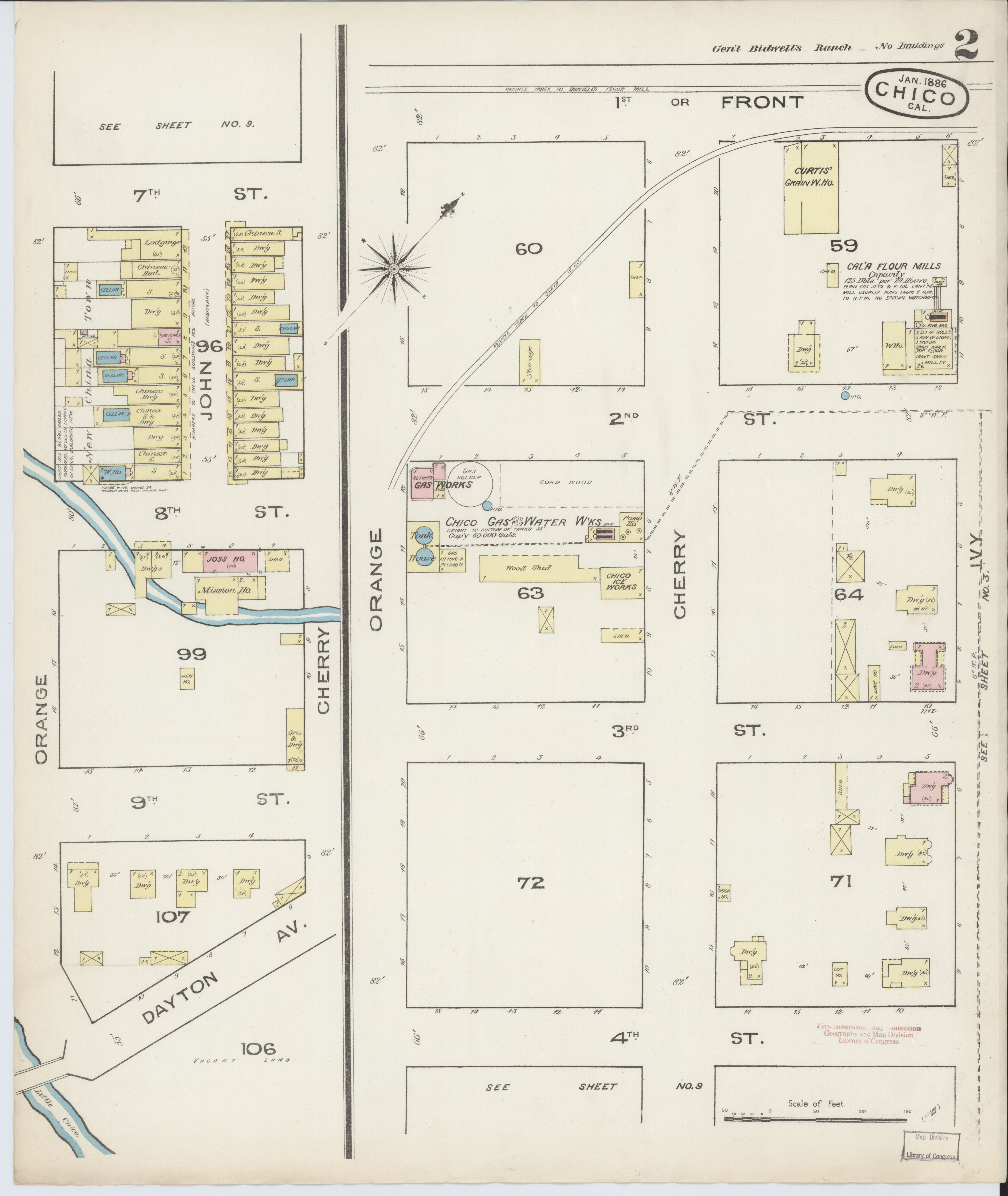 File Sanborn Fire Insurance Map From Chico Butte County California