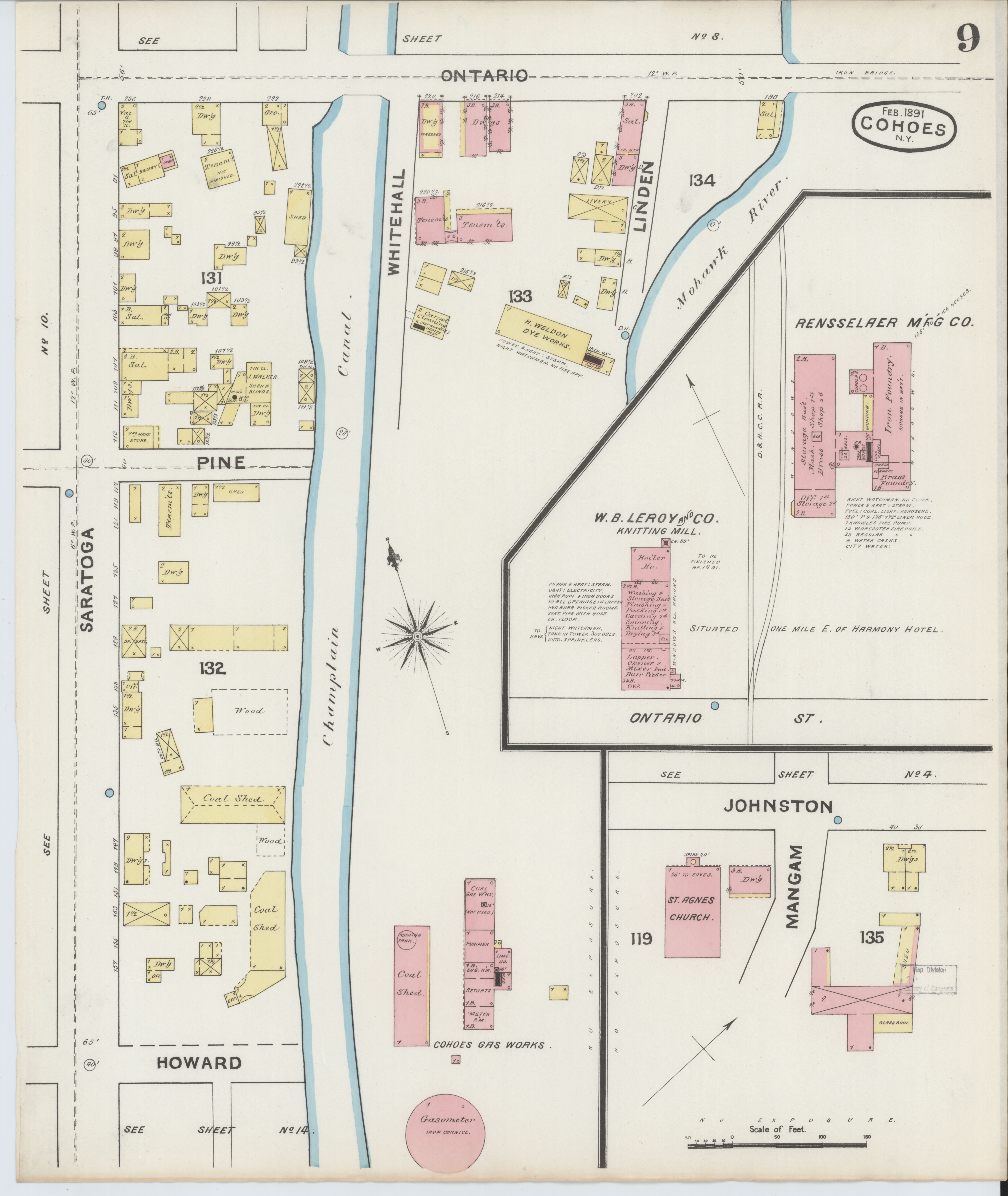 8fd052fcaa990 File Sanborn Fire Insurance Map from Cohoes