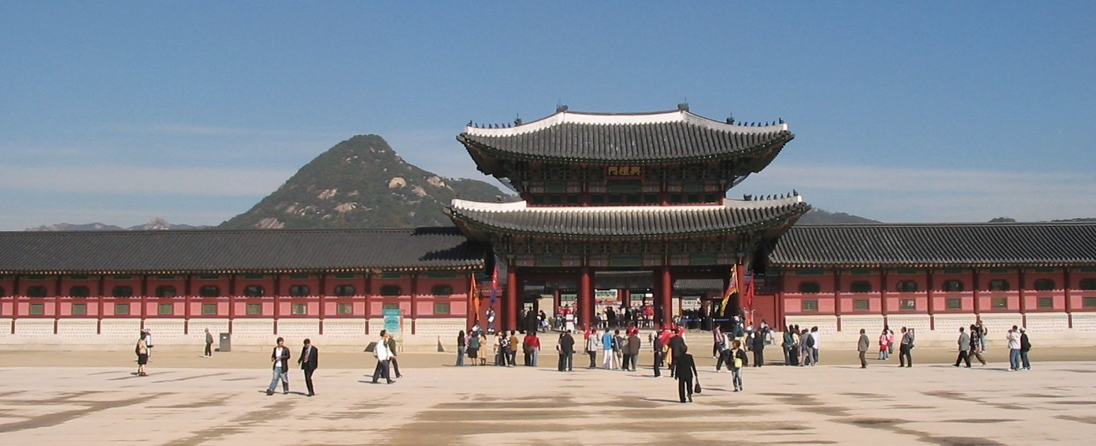 FileSeoul Gyeongbokgung Palace Exterior View