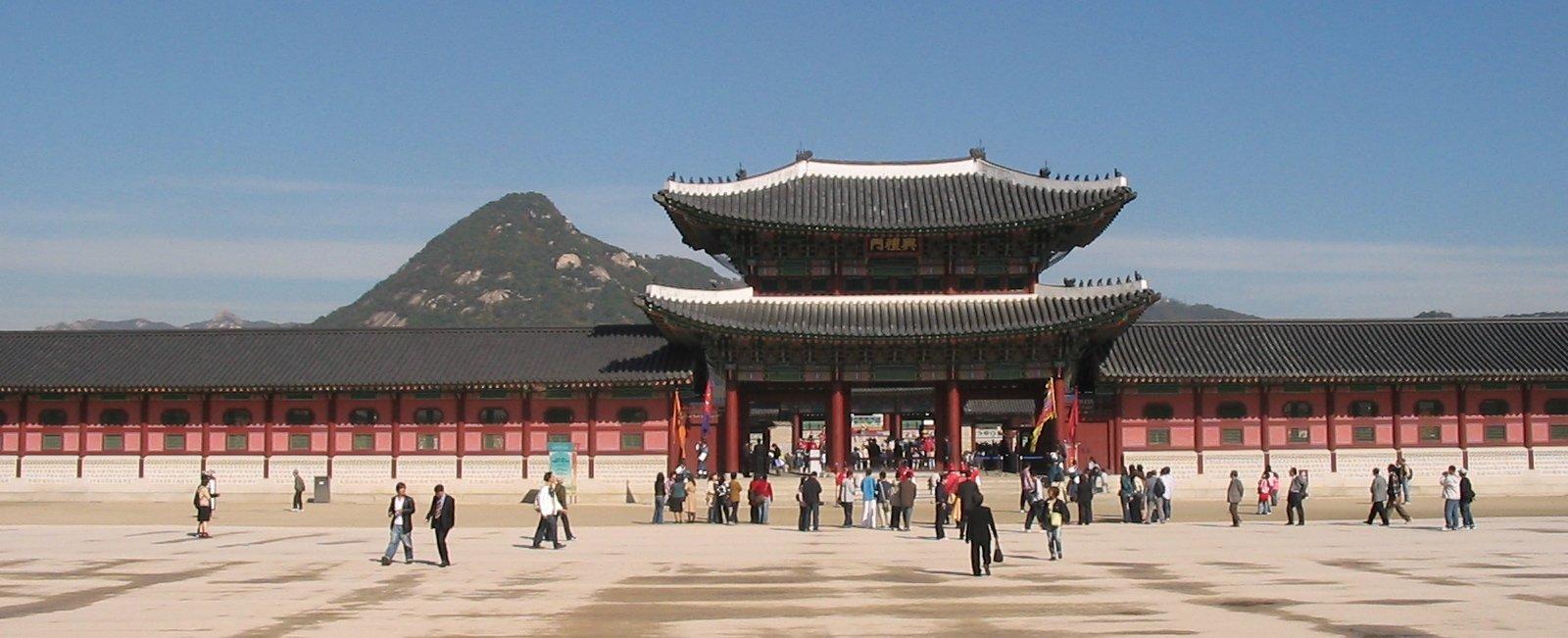 Gyeongbokgung Palace Seoul Location Map