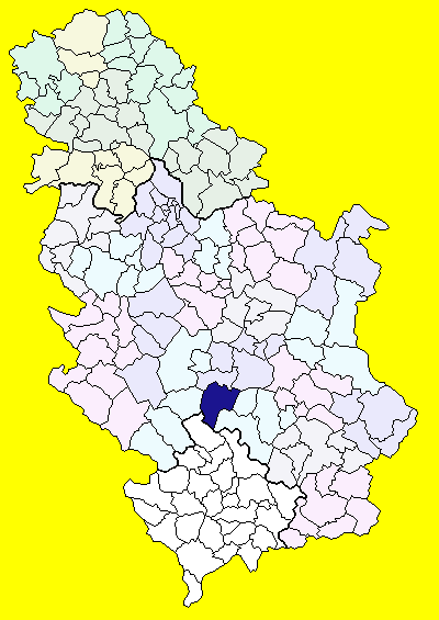 brus srbija mapa Brus (općina) – Wikipedija brus srbija mapa