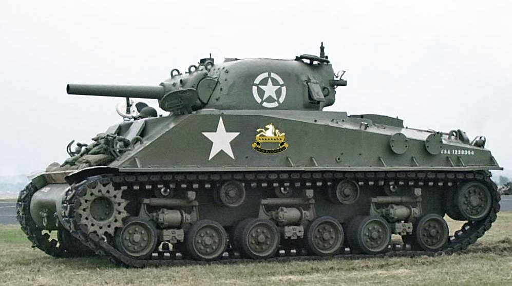 File:sherman tank ww2