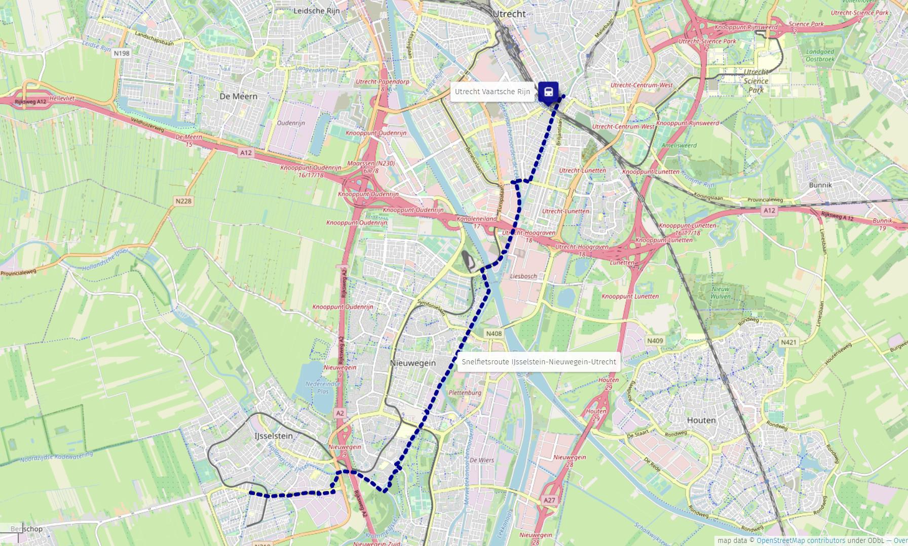 Snelfietsroute IJsselstein - Nieuwegein - Utrecht - Wikipedia