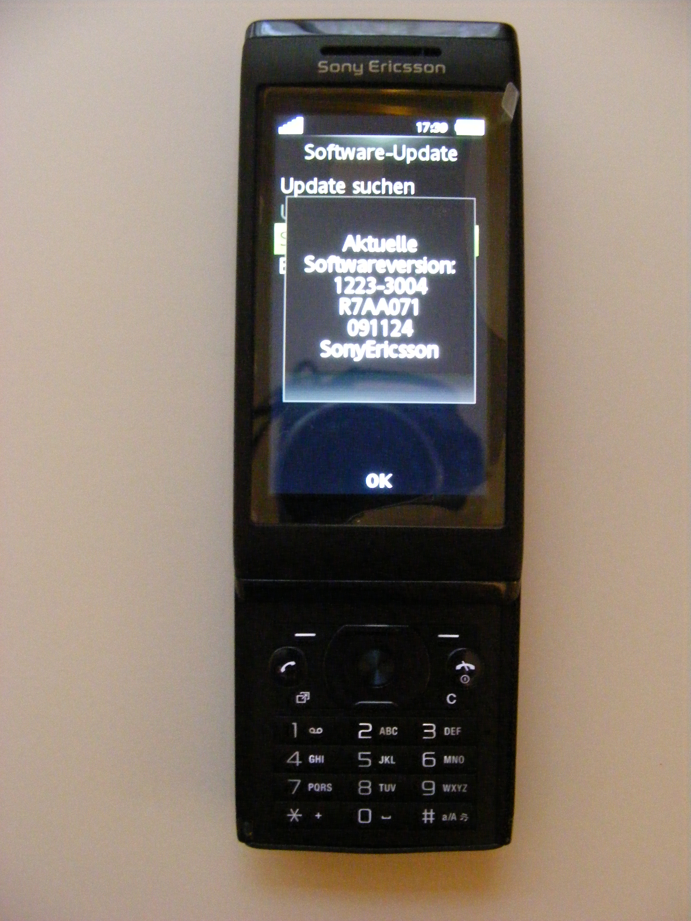 application pour sony ericsson u10i