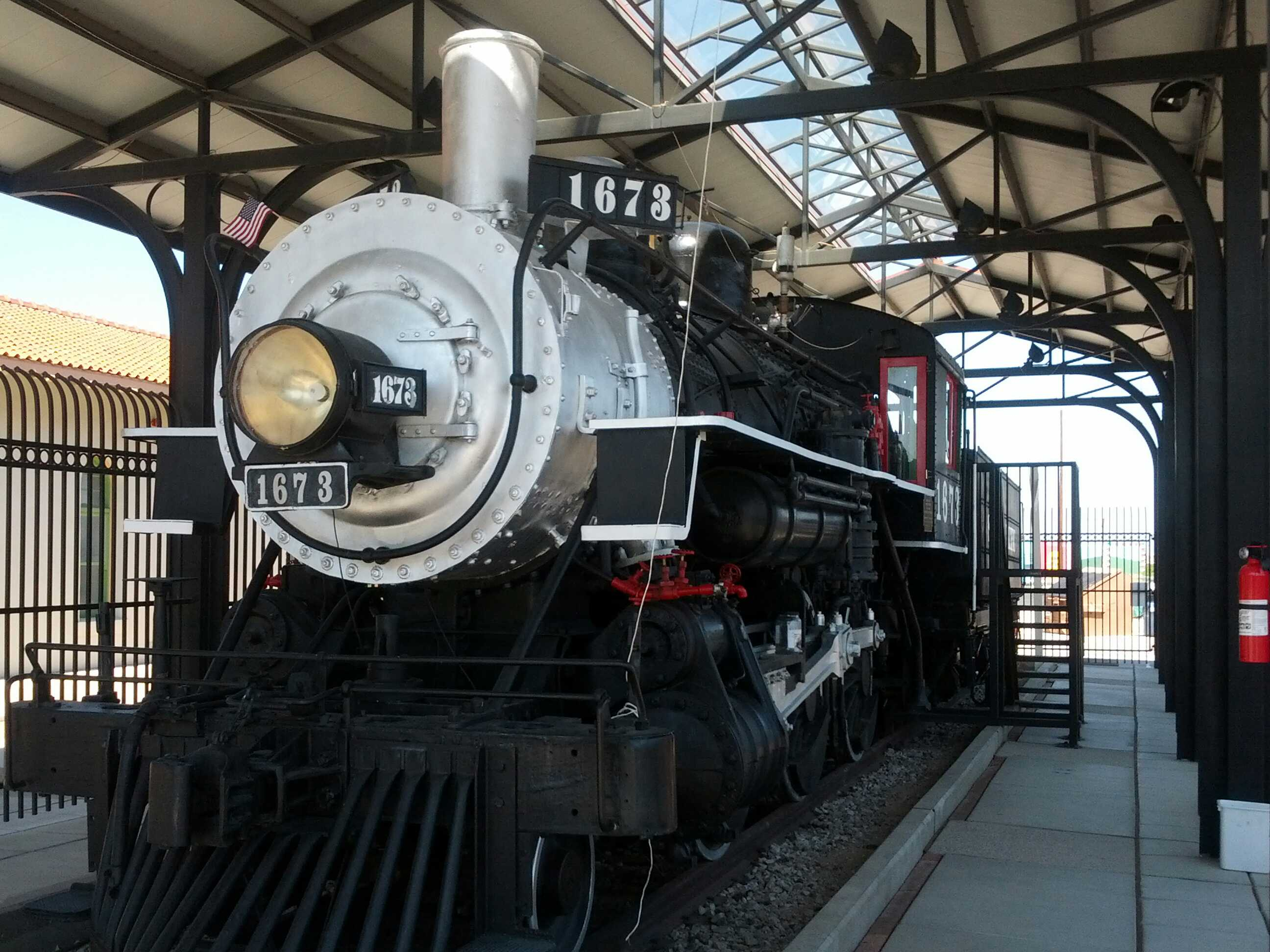 File:Southern Pacific Railroad Locomotive No- 1673 (taken on 25Aug2012  10hrs6mins28secs).