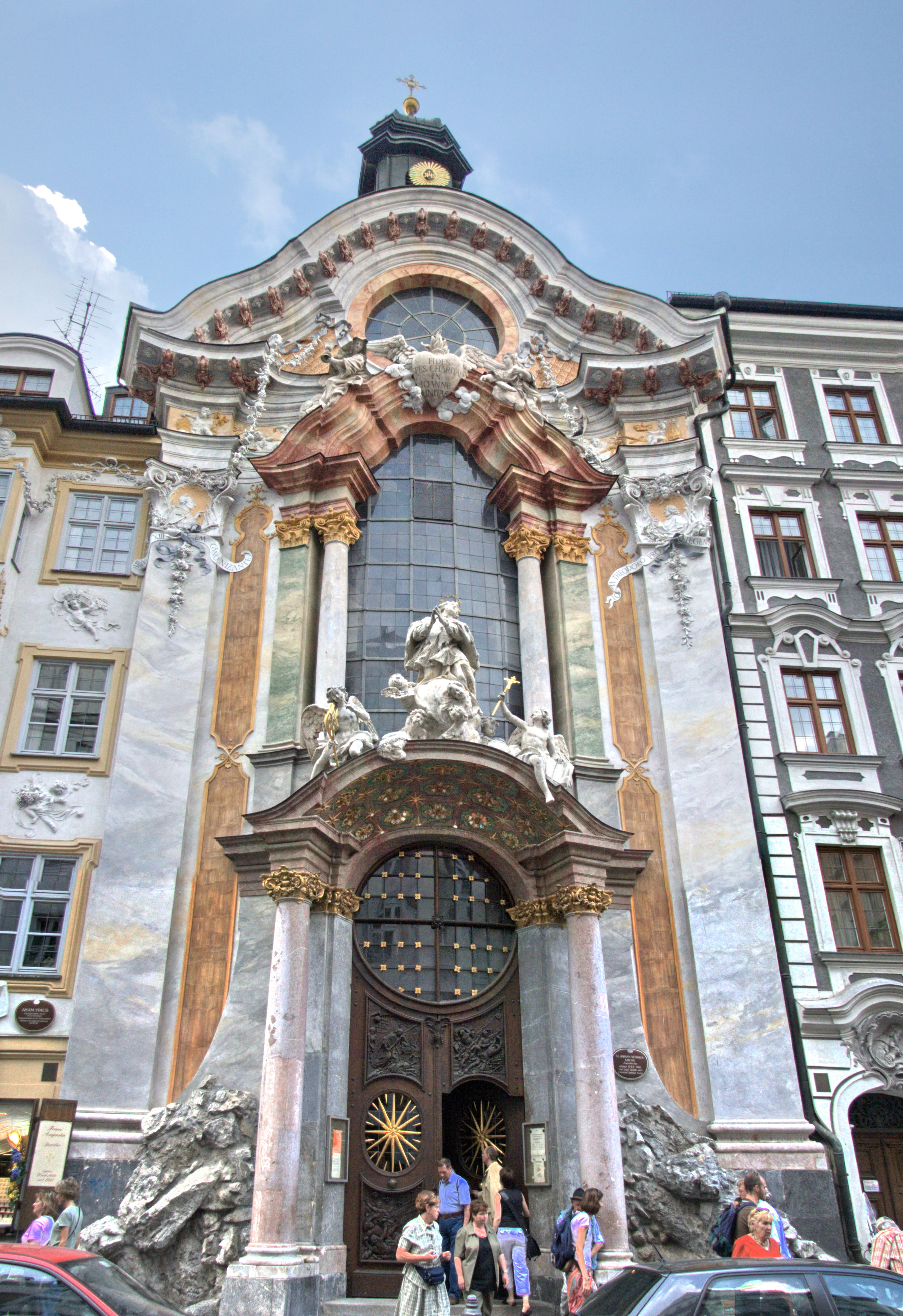 1000 images about architecture baroque rococo on for Architecture rococo