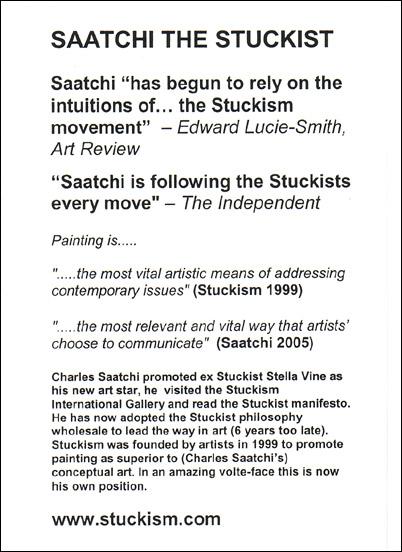 File:Stuckists Saatchi Gallery leaflet 2005.jpg