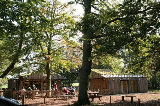 Tea Room at Burnham Beeches - geograph.org.uk - 1464268