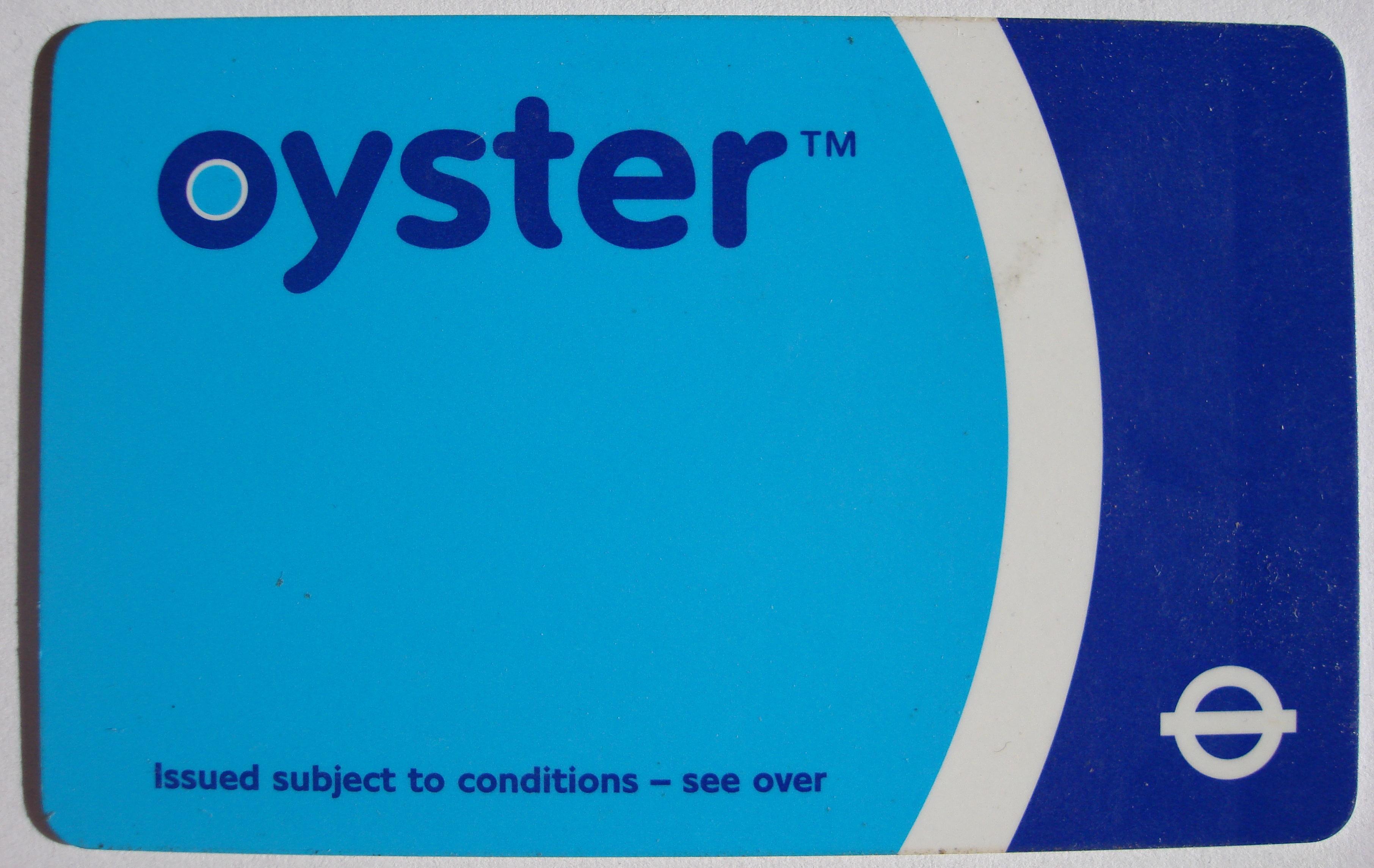 Oyster Reisekort Wikipedia