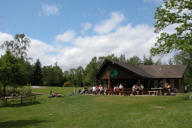 The visitor centre at Alice Holt forest - geograph.org.uk - 15123