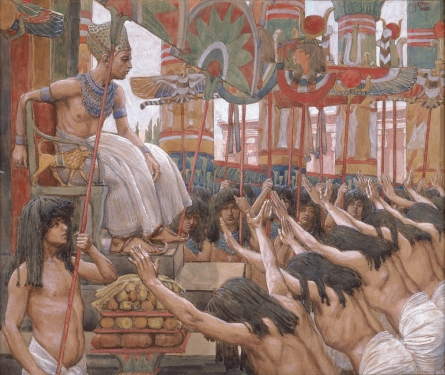 Joseph King of Egypt Joseph Dwells in Egypt