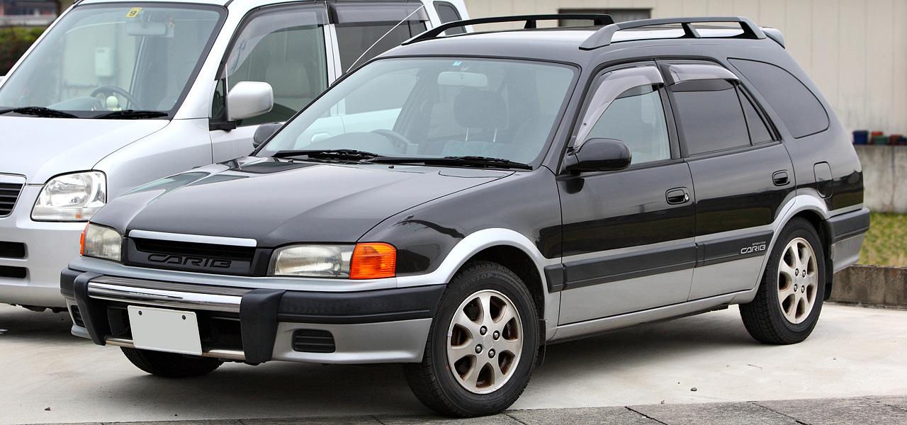 Fotos Toyota Sprinter Carib - Fotos de coches - Zcoches