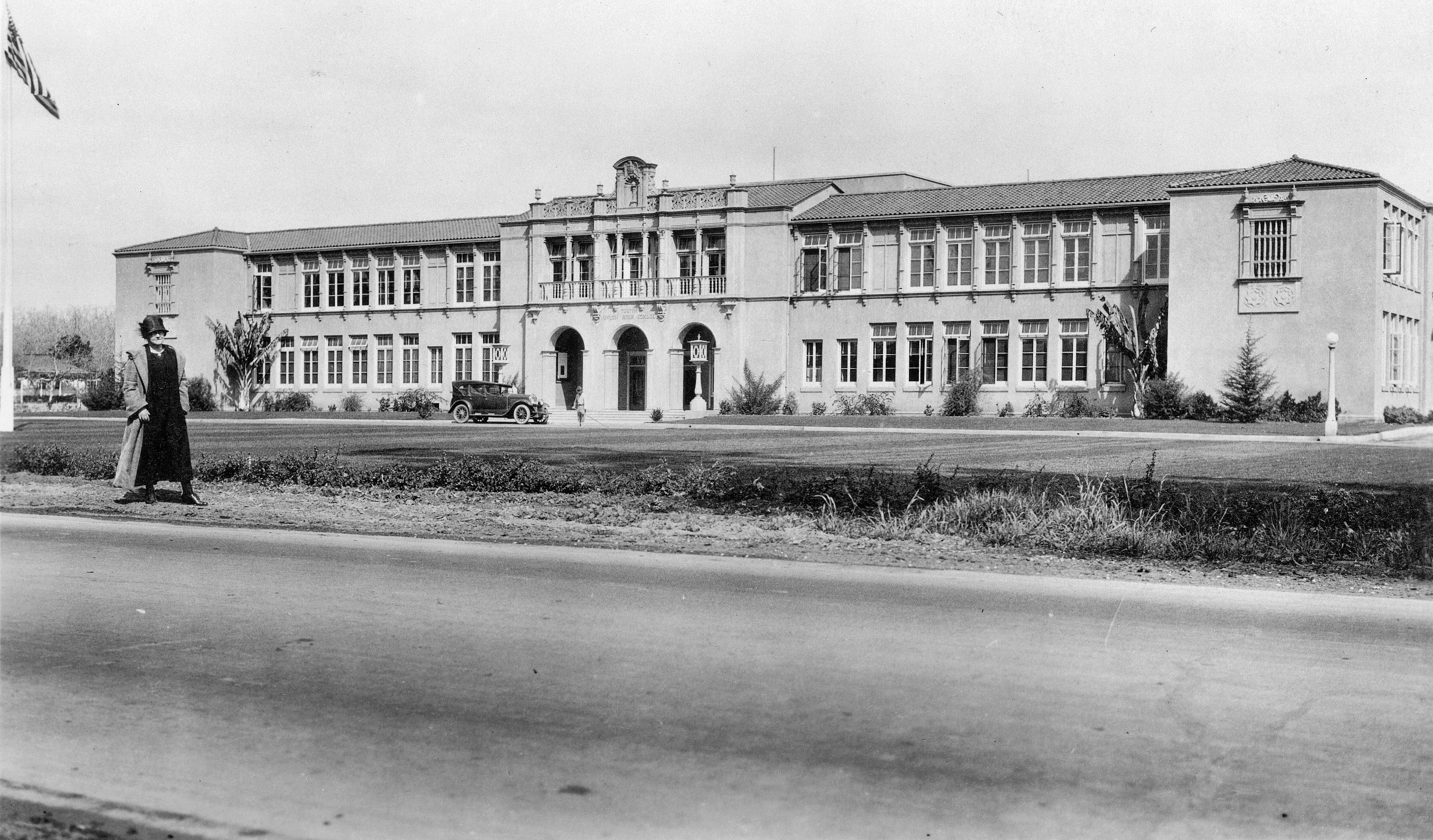 file tustin high school  circa 1925 jpg