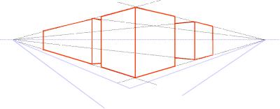 Lijnperspectief wikipedia - Kubus interieurs ...
