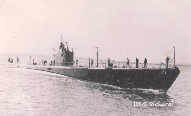 USS Pickerel (SS-177) - Wikipedia