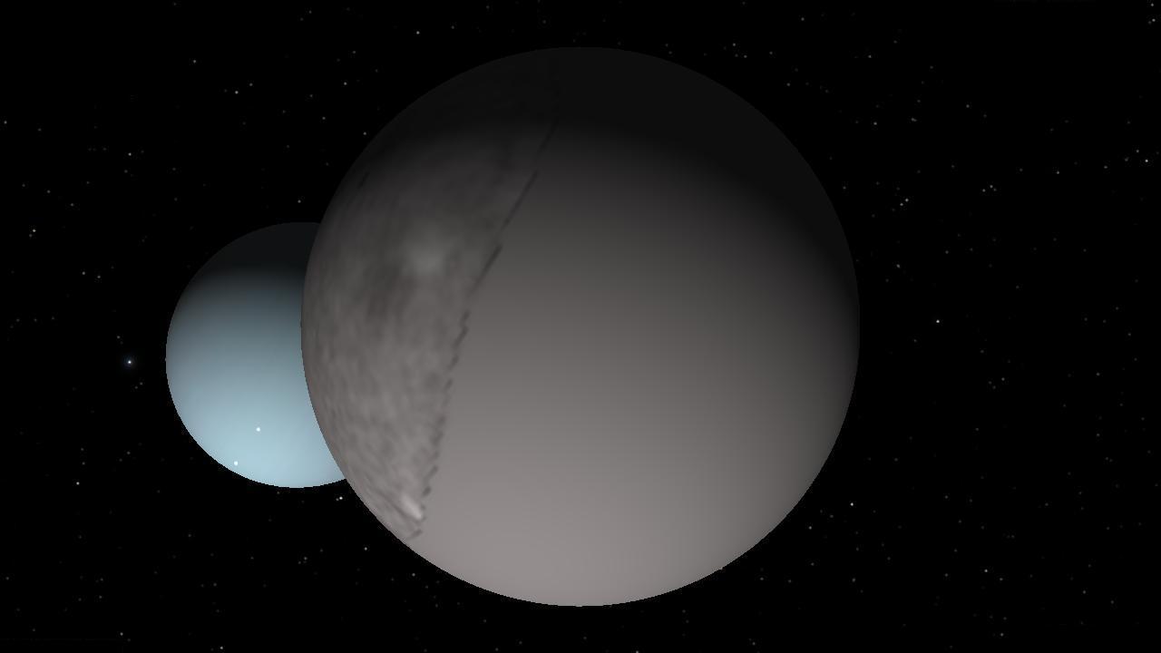 Uranus Moon Umbriel - Pics about space