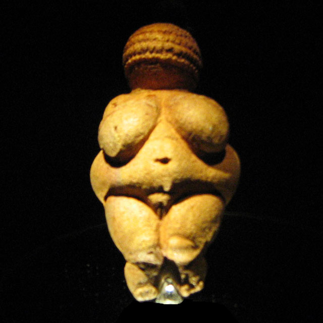 Venus of Willendorf photo: Wikipedia.