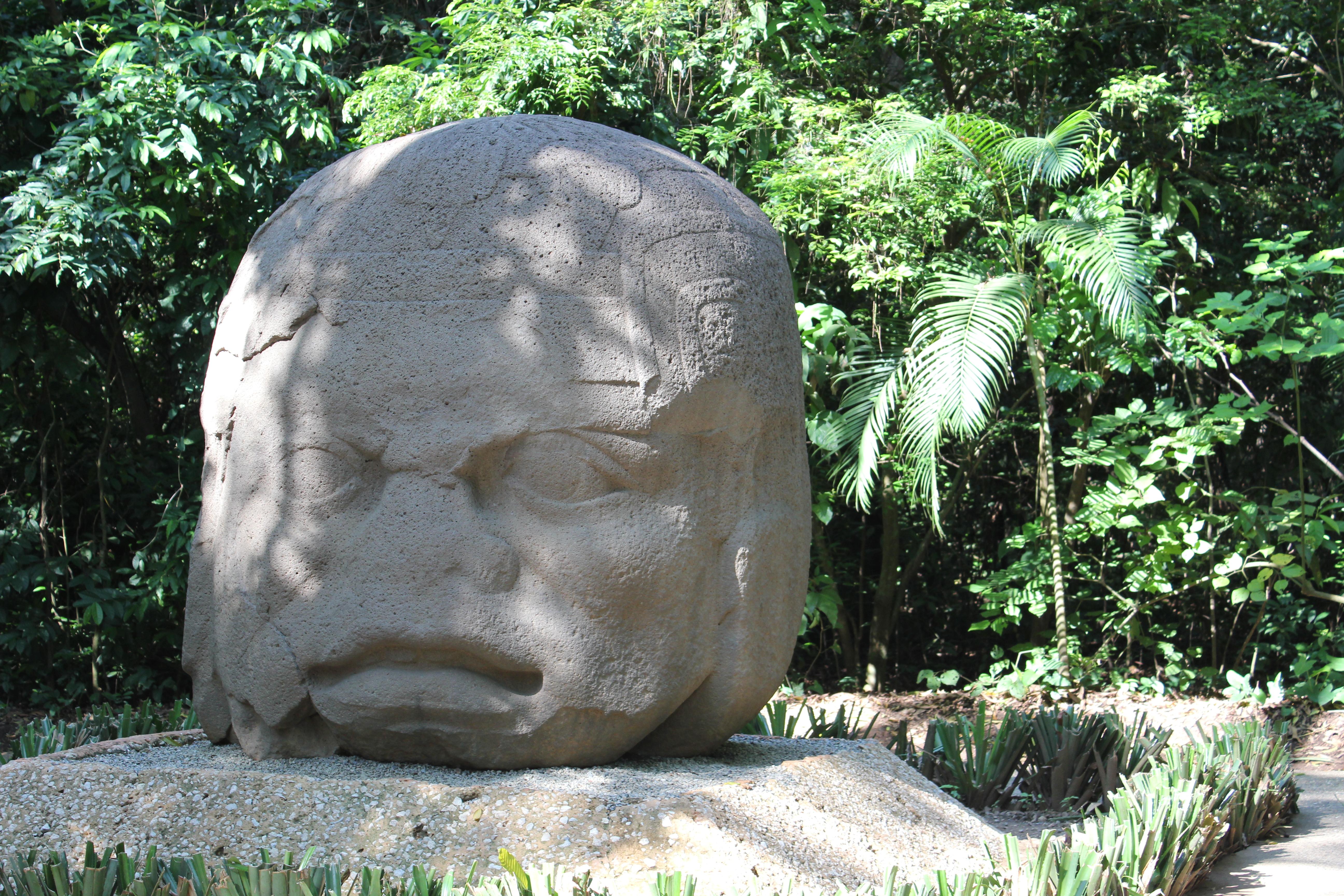 Foto De Parque Museo La Venta Villahermosa: File:Villahermosa, Parque-Museo La Venta, The Old Warrior