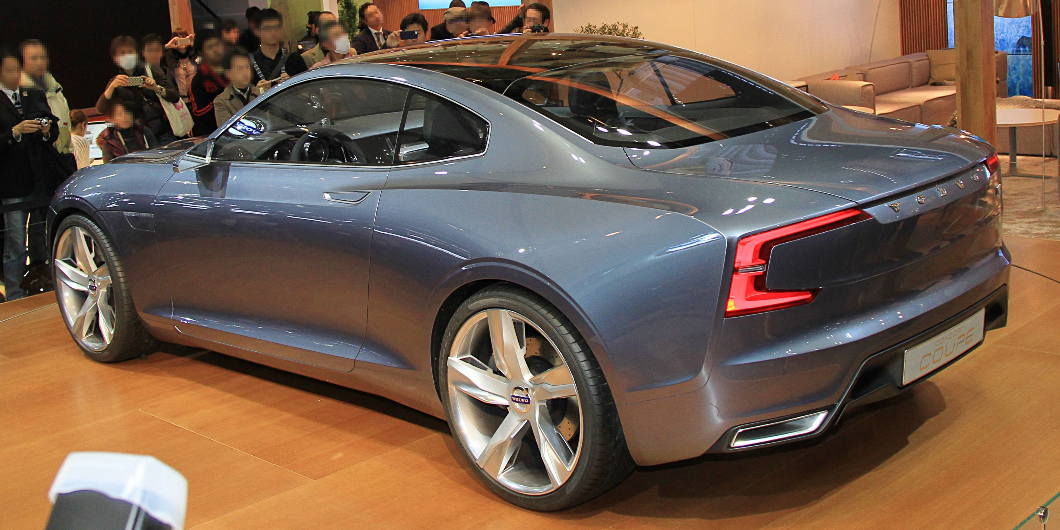 File Volvo Concept Coupe Rear Jpg Wikimedia Commons