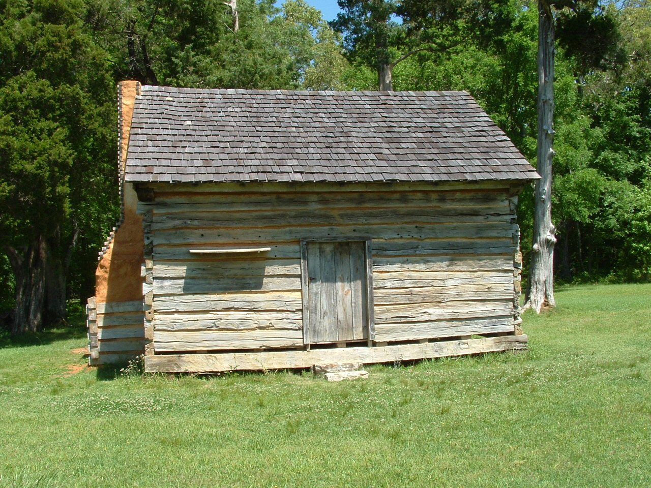 File W Manse George Cabin Shiloh National Military Park