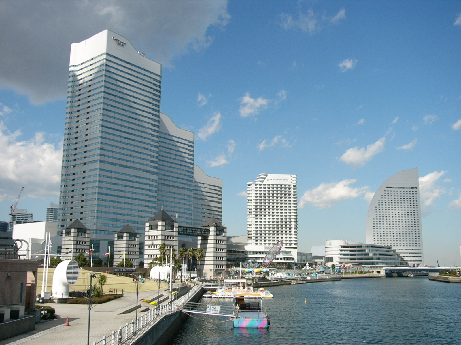 description of the yokohama port essay