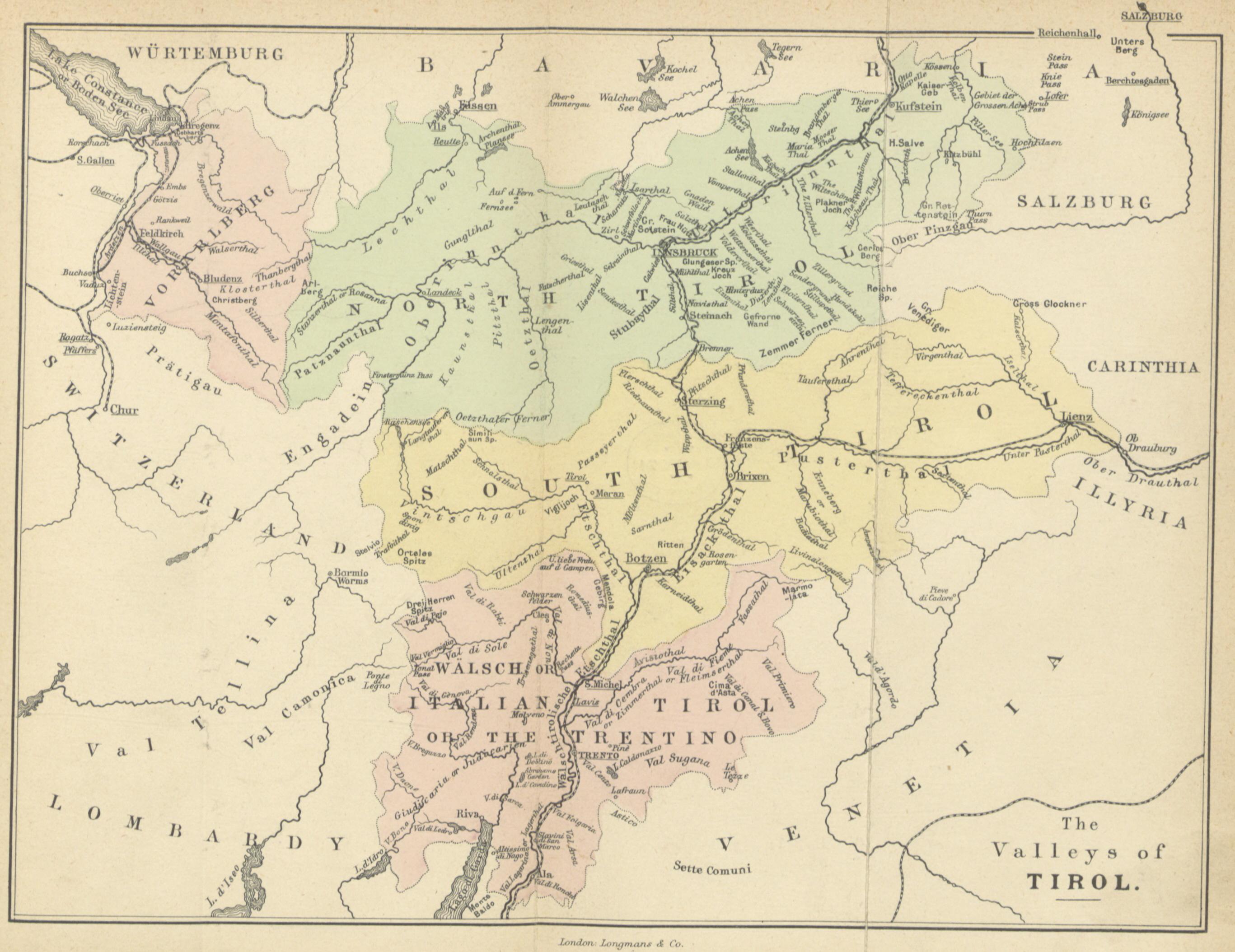 Cartina Geografica Del Trentino Alto Adige Wikipedia