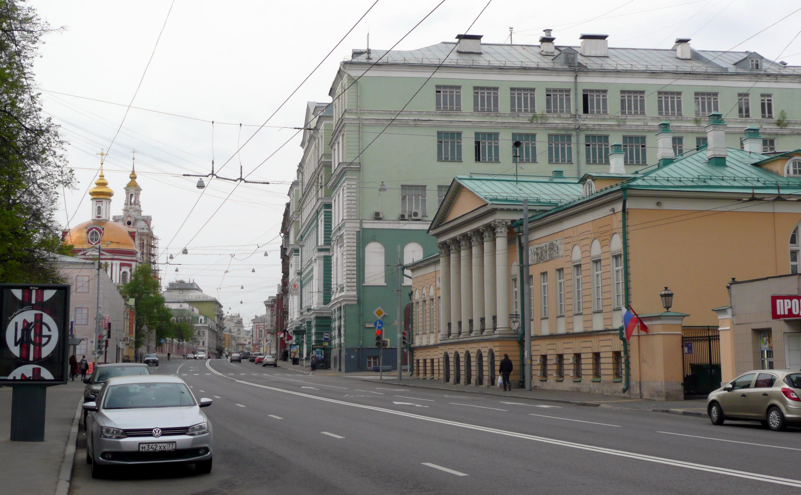 Старая басманная игороховский переулок