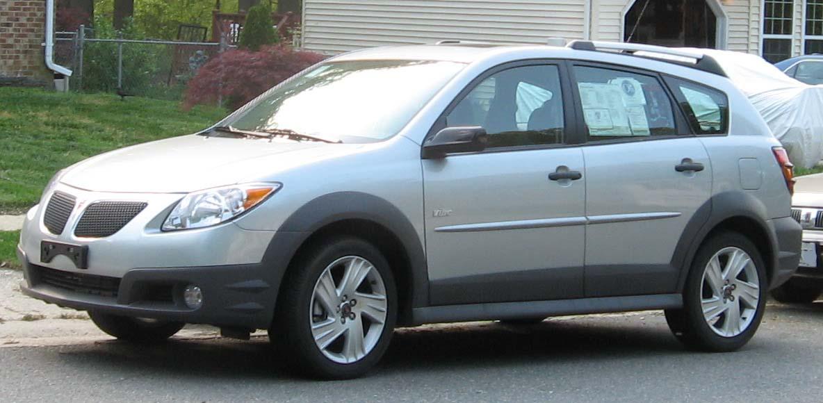 2005 pontiac vibe gt wagon 1 8l manual rh carspecs us 2007 Pontiac Vibe 2008 Pontiac Vibe