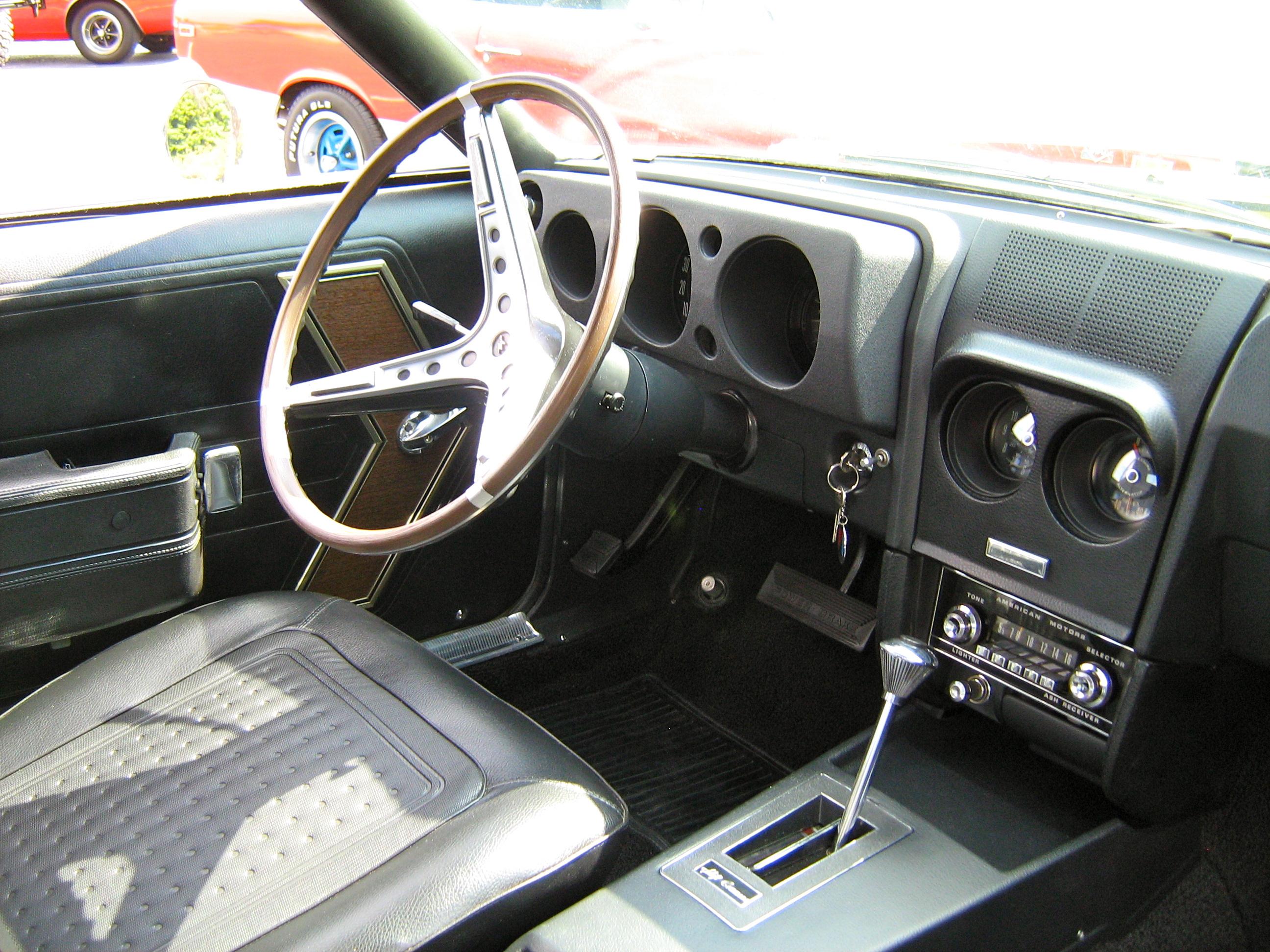 File 1968 Amc Amx Yellow 390 Auto Md Il Jpg