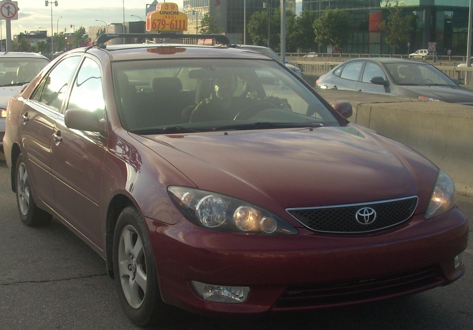 File 2005 06 Toyota Camry Se Taxi Jpg
