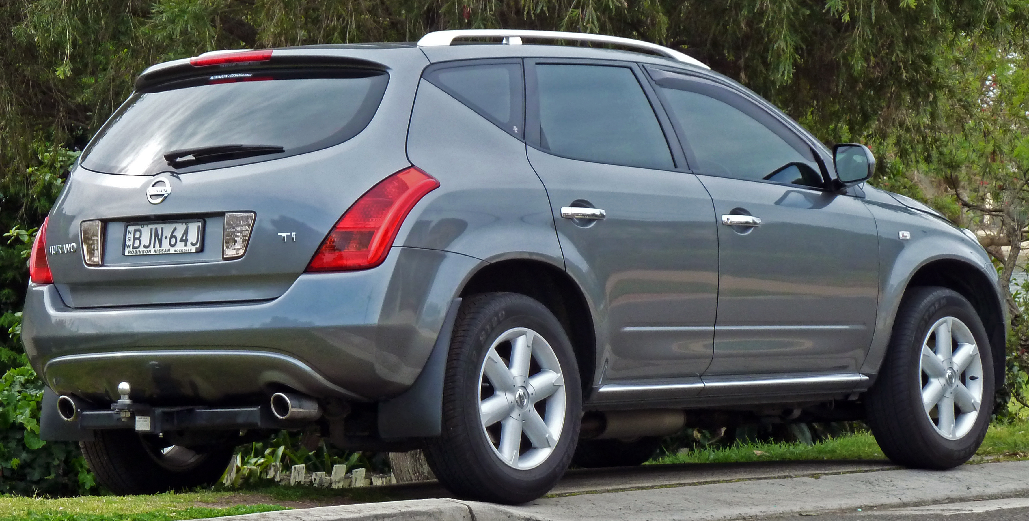 file 2005 2008 nissan murano z50 ti wagon wikimedia commons. Black Bedroom Furniture Sets. Home Design Ideas