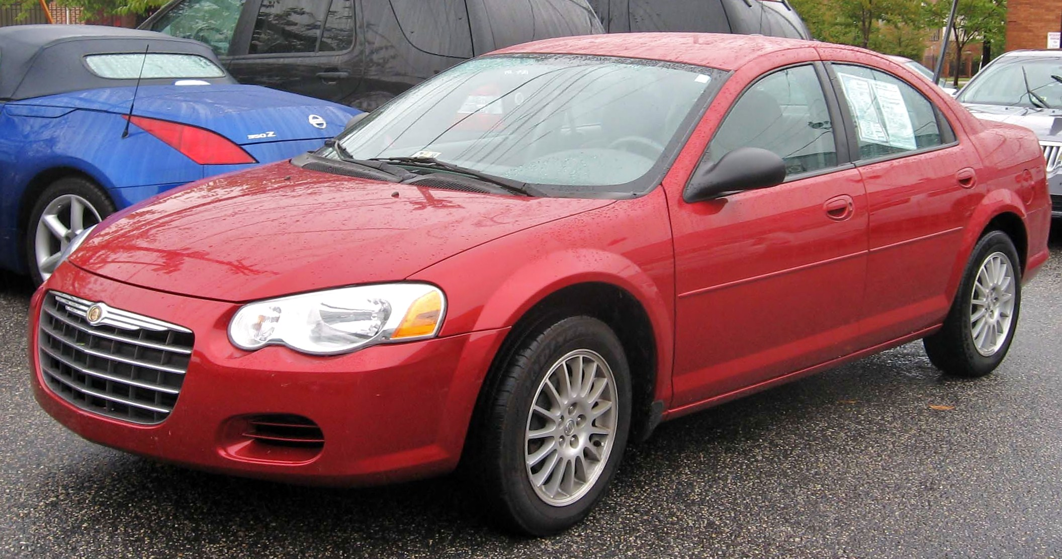 File 2006 Chrysler Sebring Jpg Wikimedia Commons